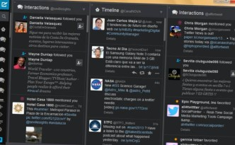 TweetDeck New Interface