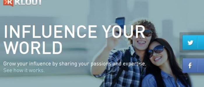 Klout measure your influence